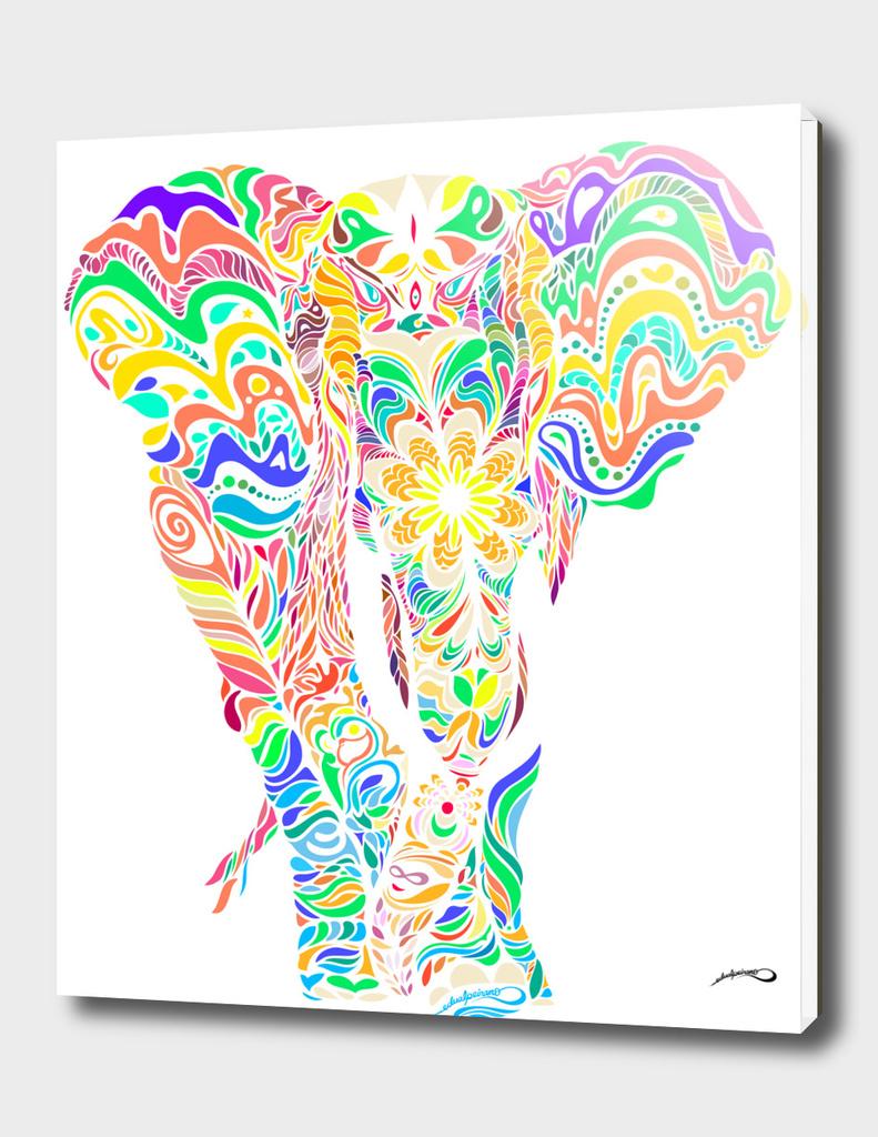 Not a circus elephant transparent version