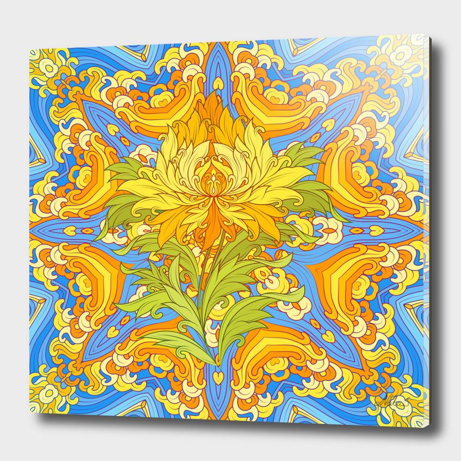 zenith | tibetan flower
