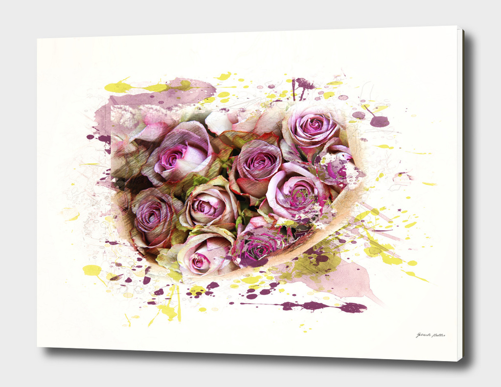 Roses / Flowers - Digital Art