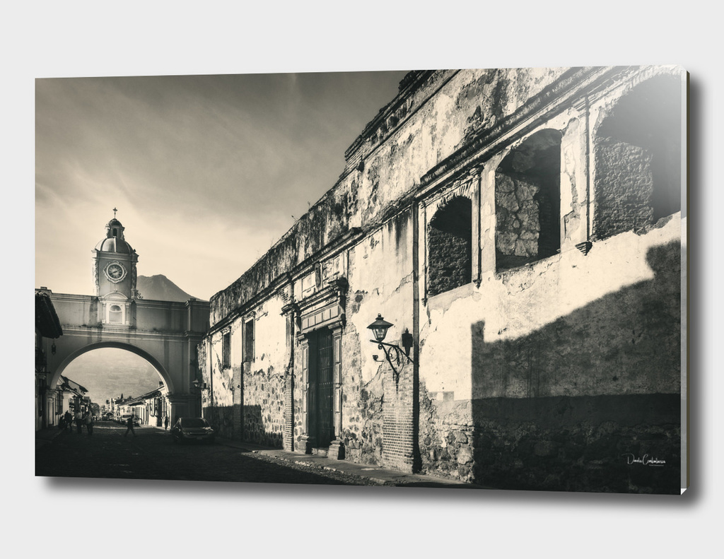 Antique buildings in Antigua, Guatemala