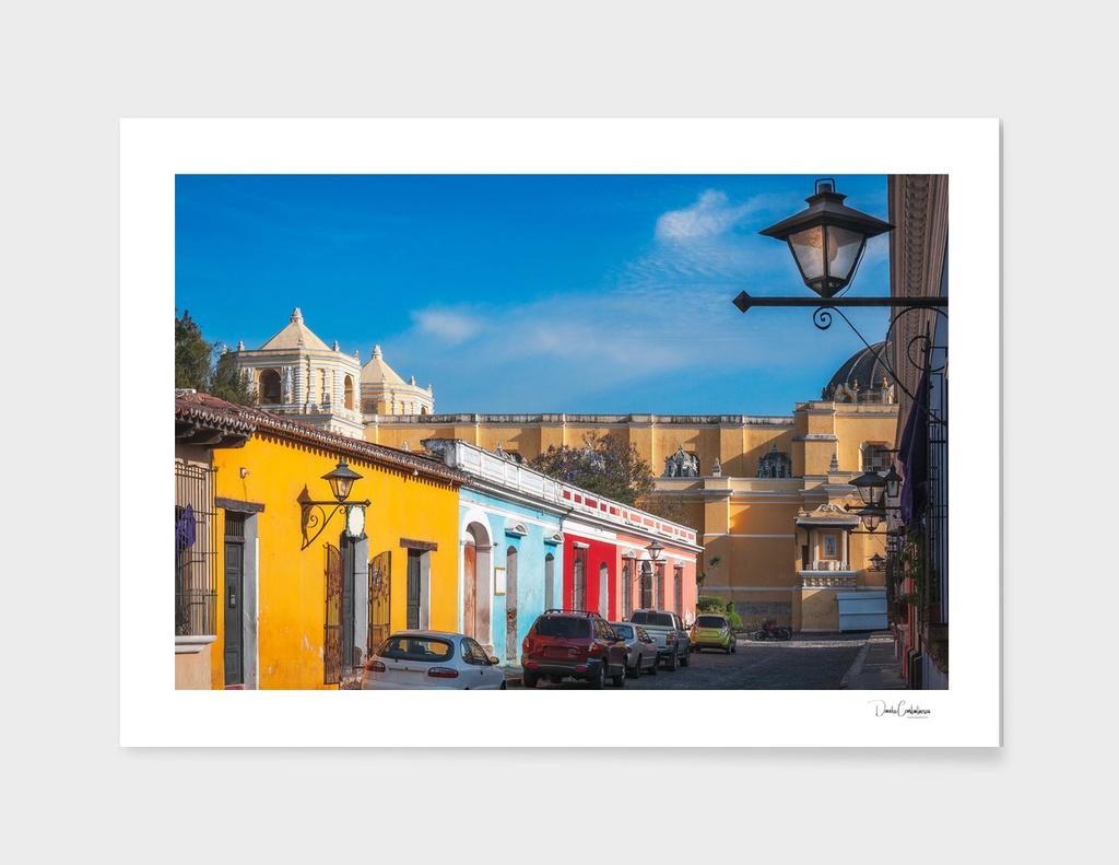 Heritage Street in Antigua, Guatemala