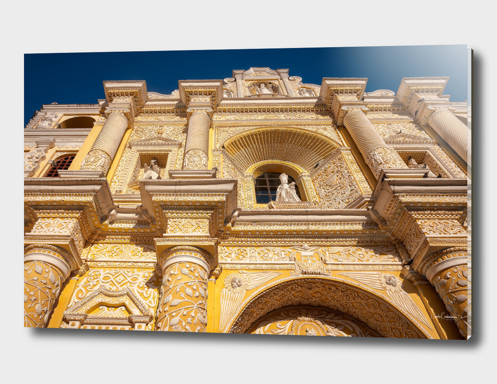 Architectural Details of La Merced Church-Antigua, Guatemala