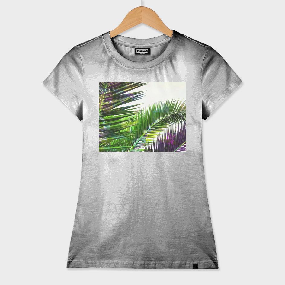 Vintage Palm Leaves - Green