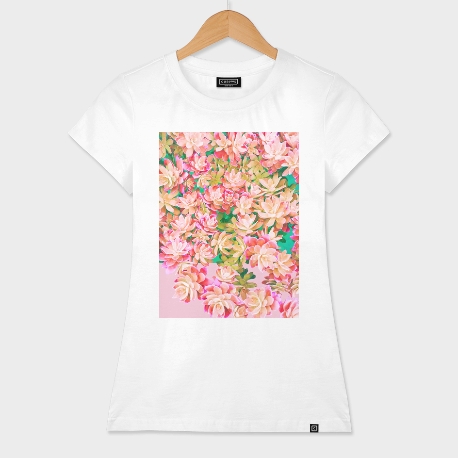 Cactus Fall - Pink & Green