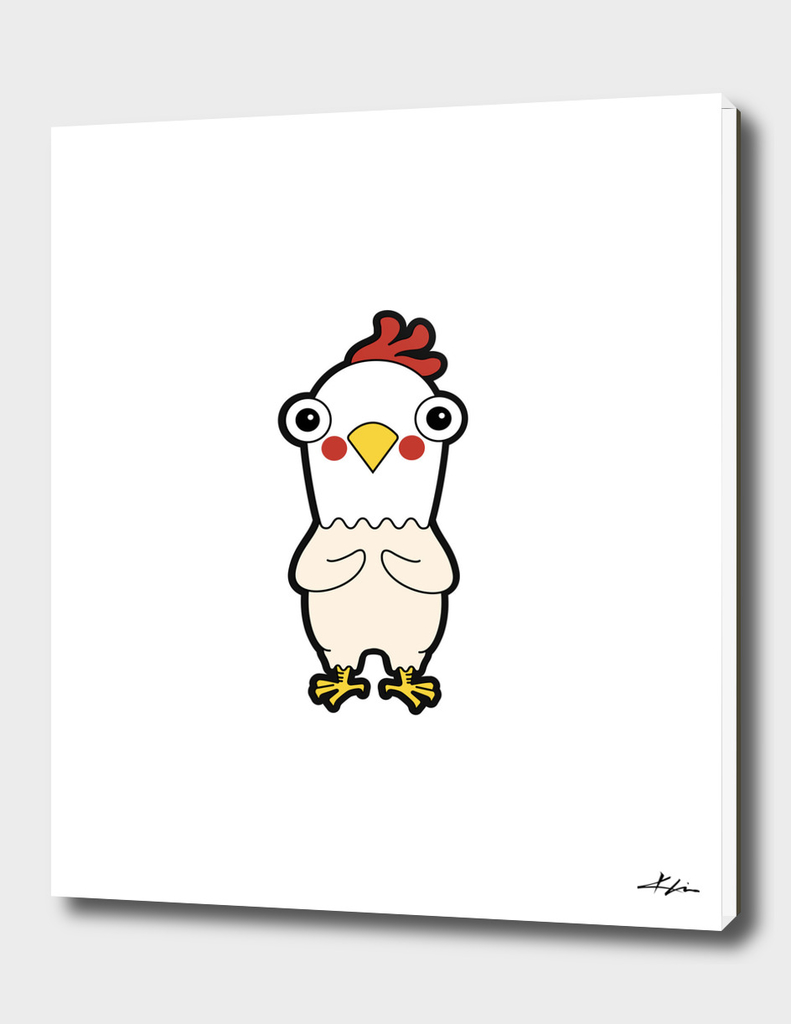 Chicken - Nude 1 Portrait