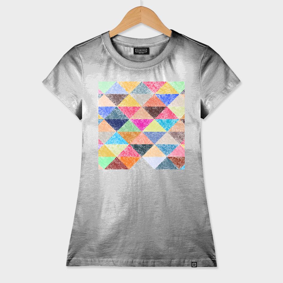Color texture, Geometric background