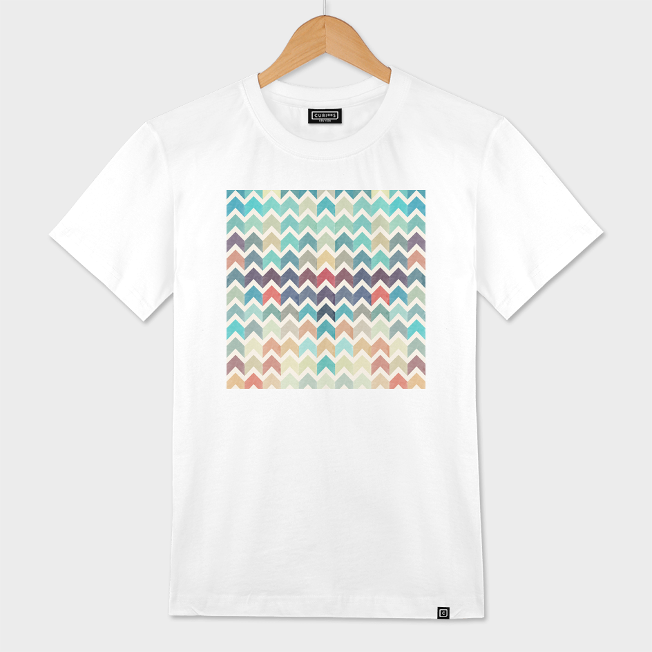 Watercolor Chevron Pattern II