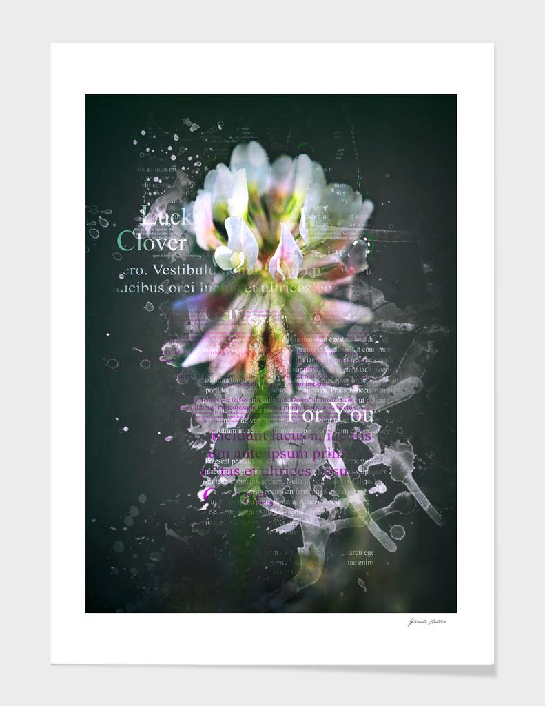 Lucky Clover - Digital Art