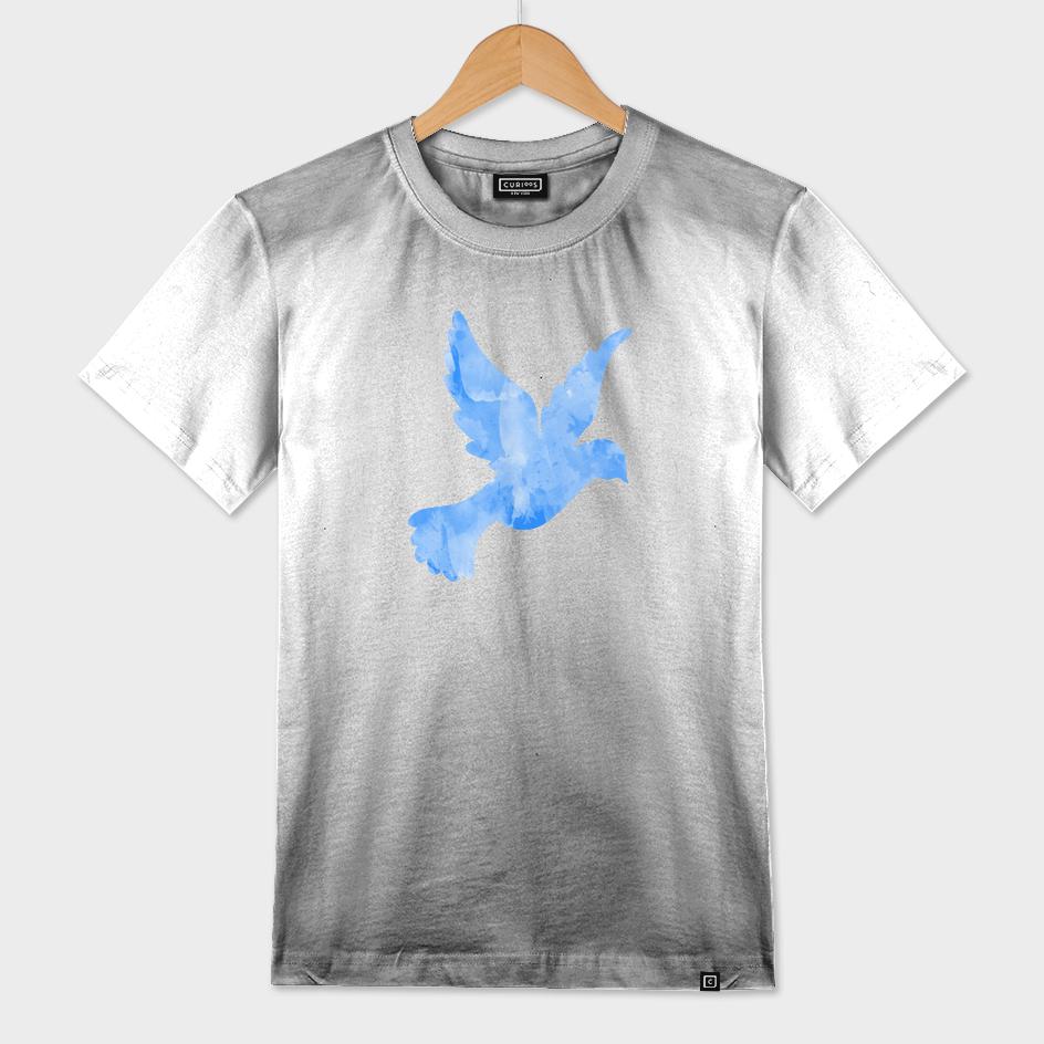 Abstract Flying Dove III