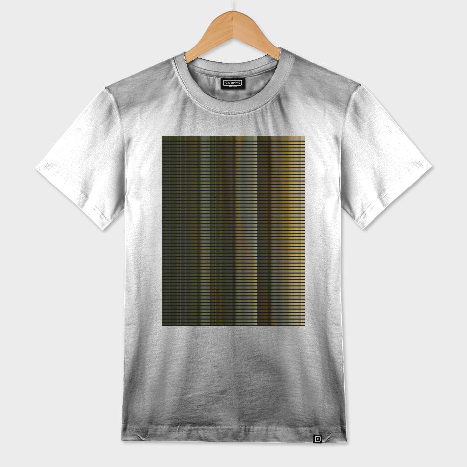 stripes - golden