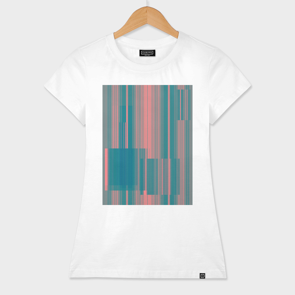 broken glitch stripes