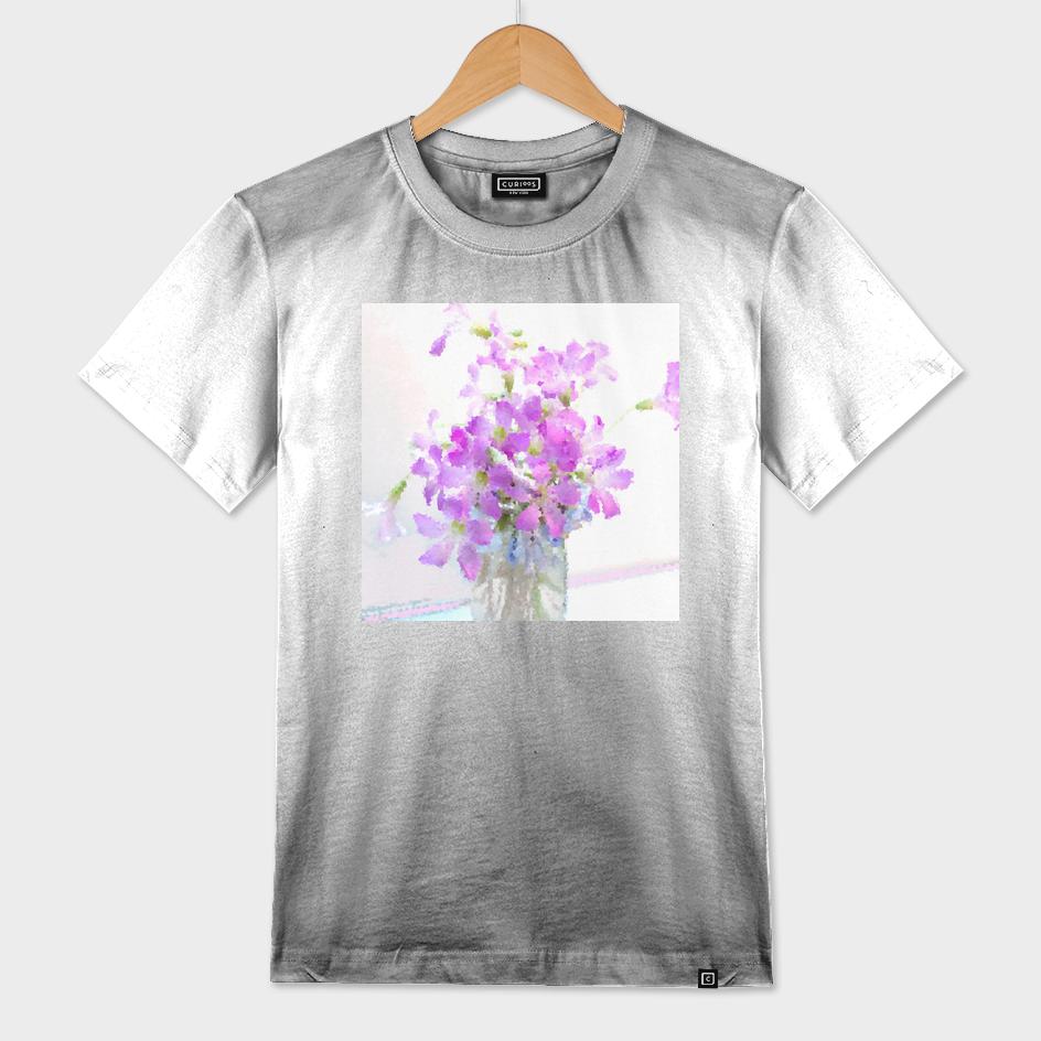 Purple Wood Sorrel Flower Bouquet II