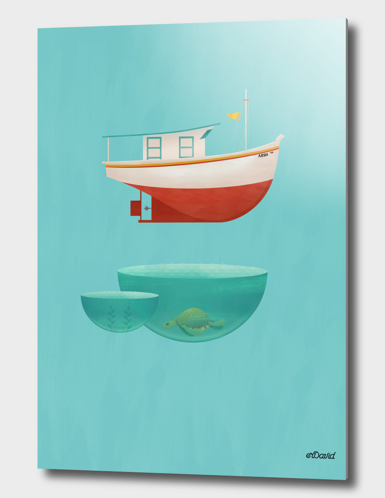 Floating Boat