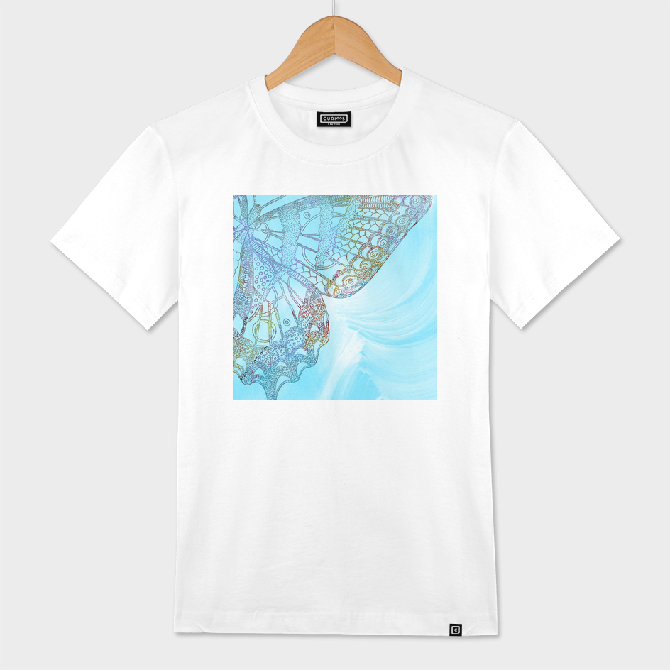 Colorful Abstract Butterfly Design