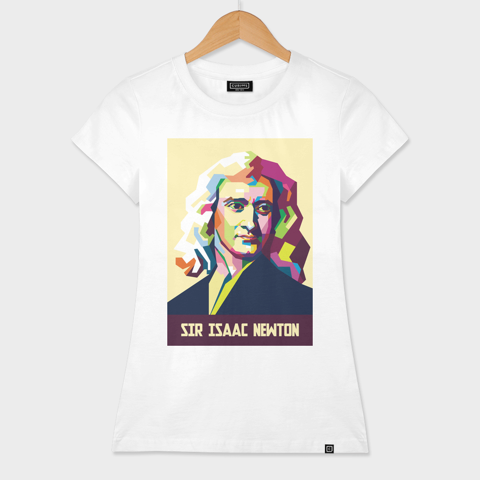 Sir Isaac Newton In Pop Art