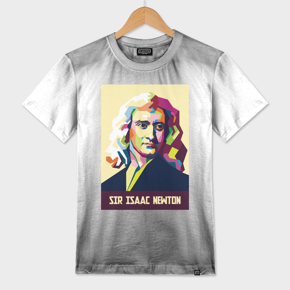 Sir Isaac Newton In Pop Art