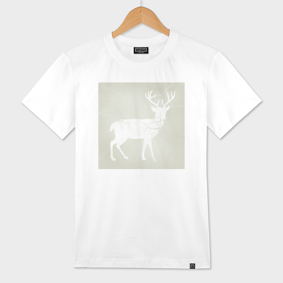 deer in the wood