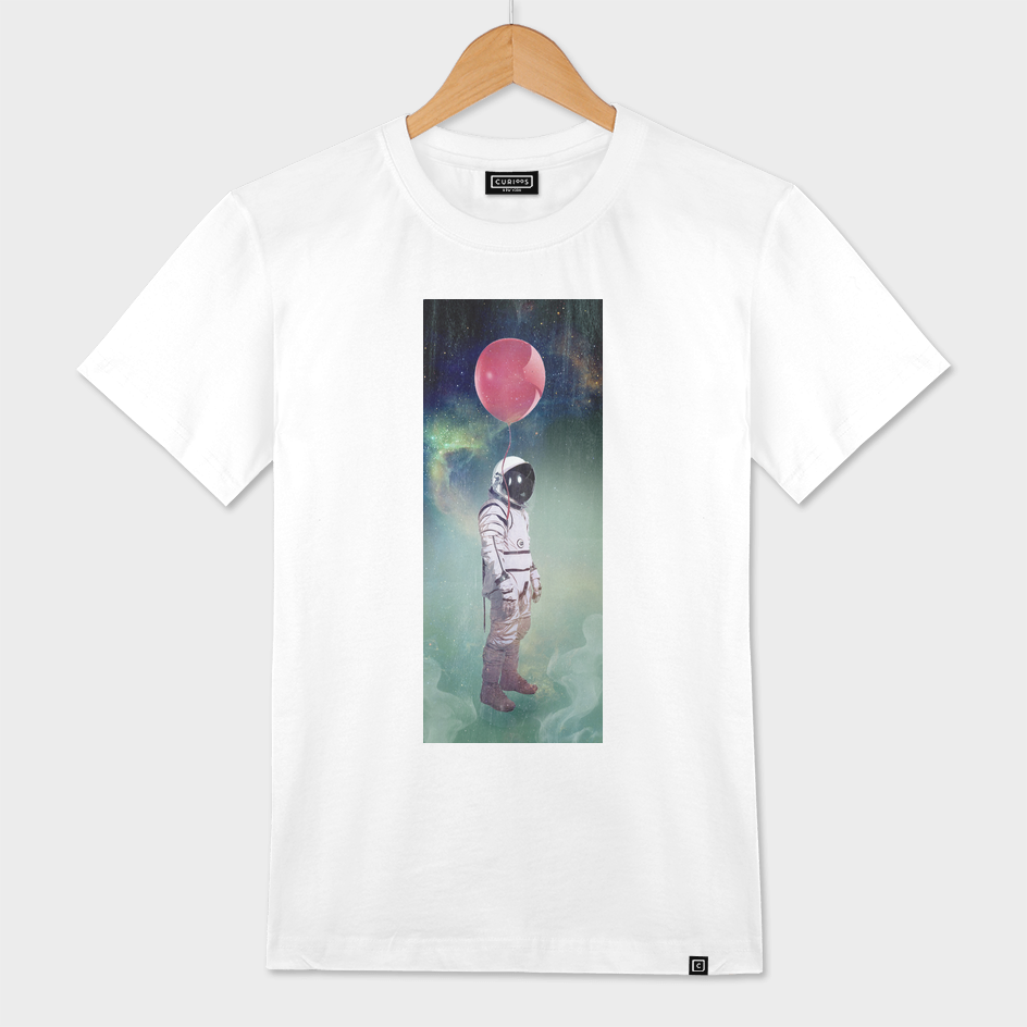 astronaut red balloon