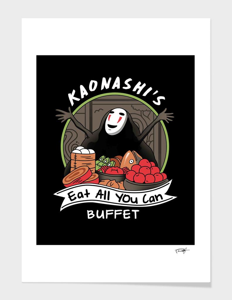Kaonashi's Eat All You Can Buffet