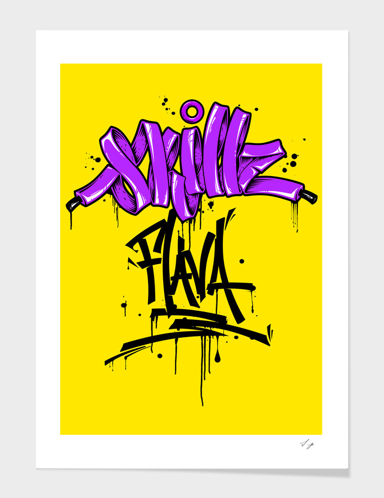 Skillz flava in yellow