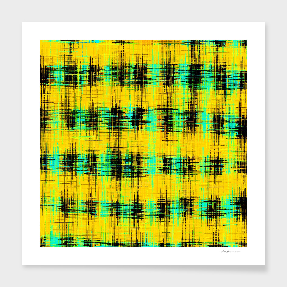 plaid pattern abstract texture in yellow green black