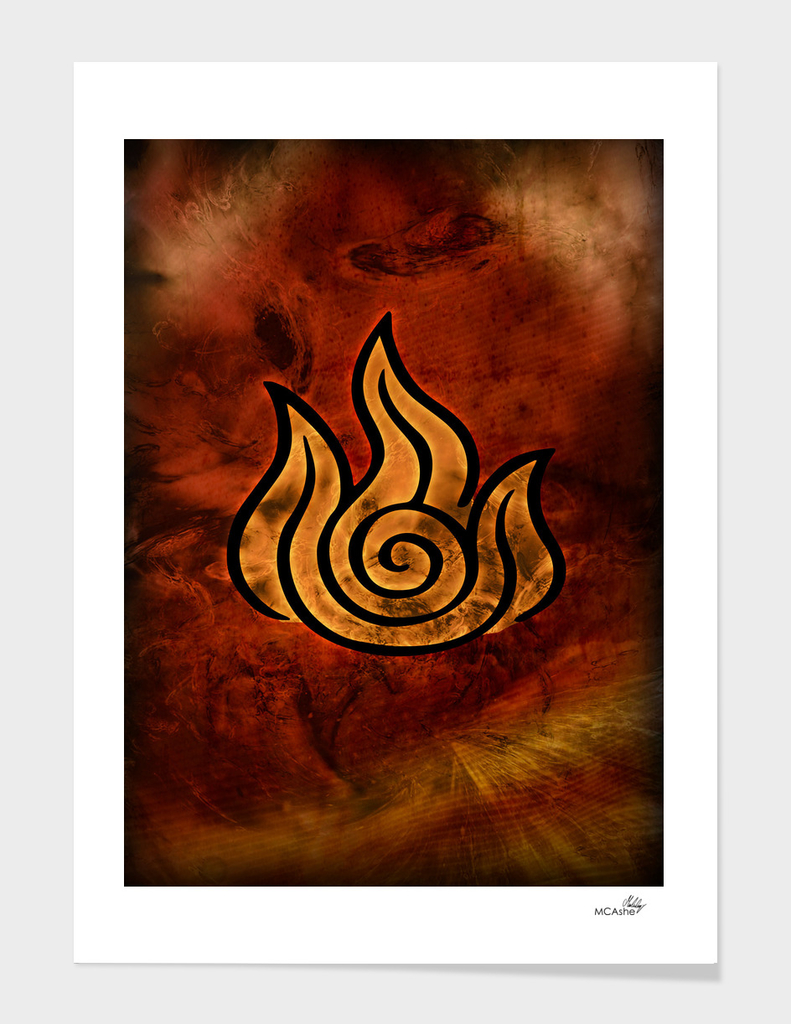 Avatar Symbol Fire Element