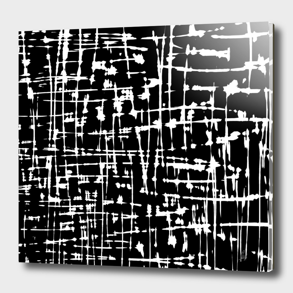 Abstract Black & White Artwork