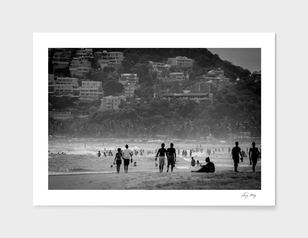 B/N Acapulco MX