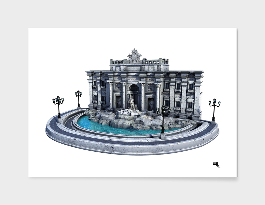 Fontana di Trevi. Rome