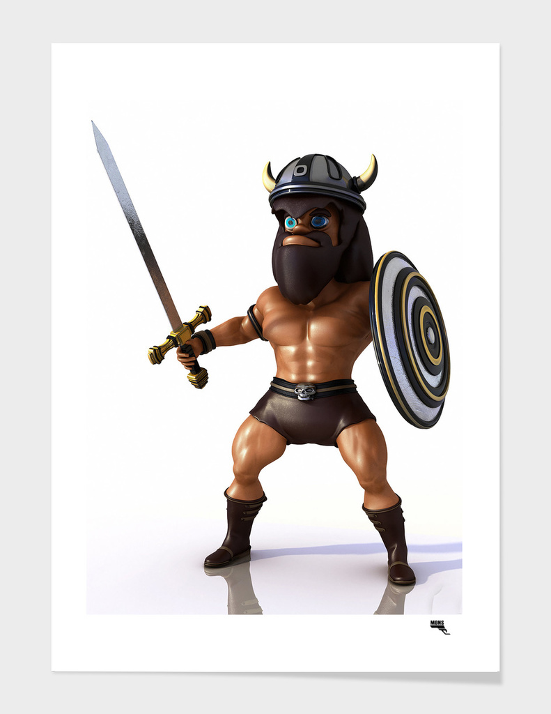 Cartoon BARBARIAN