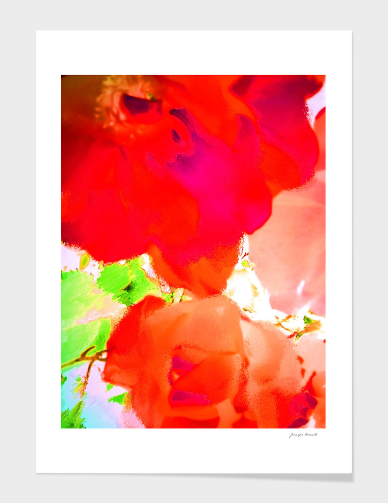 Abstract Roses 3