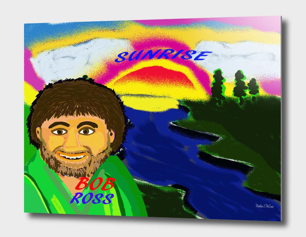 Background.Bob Ross
