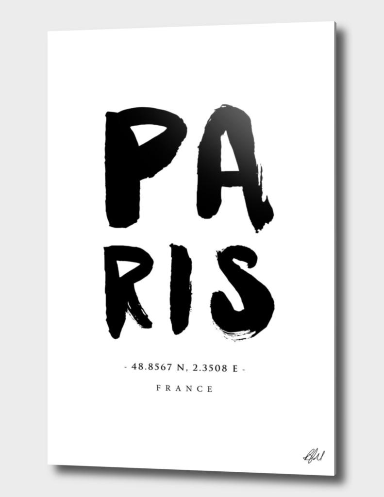 Paris Location Print