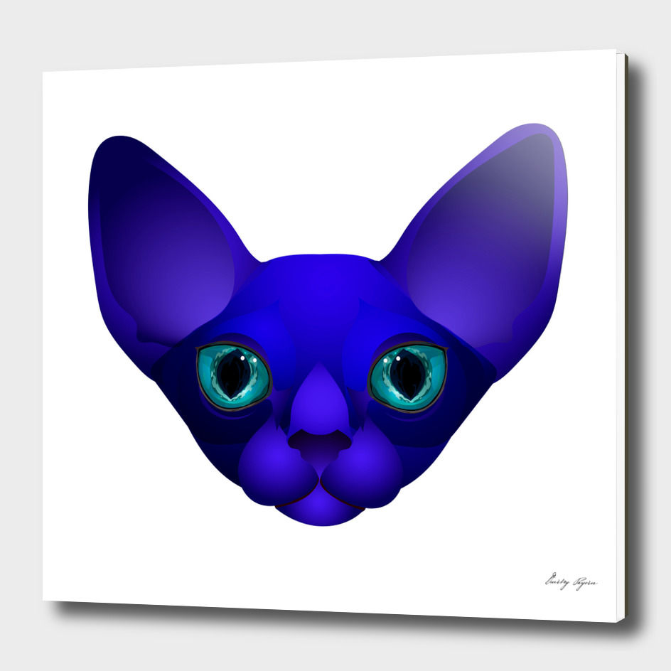 Blue cat №1