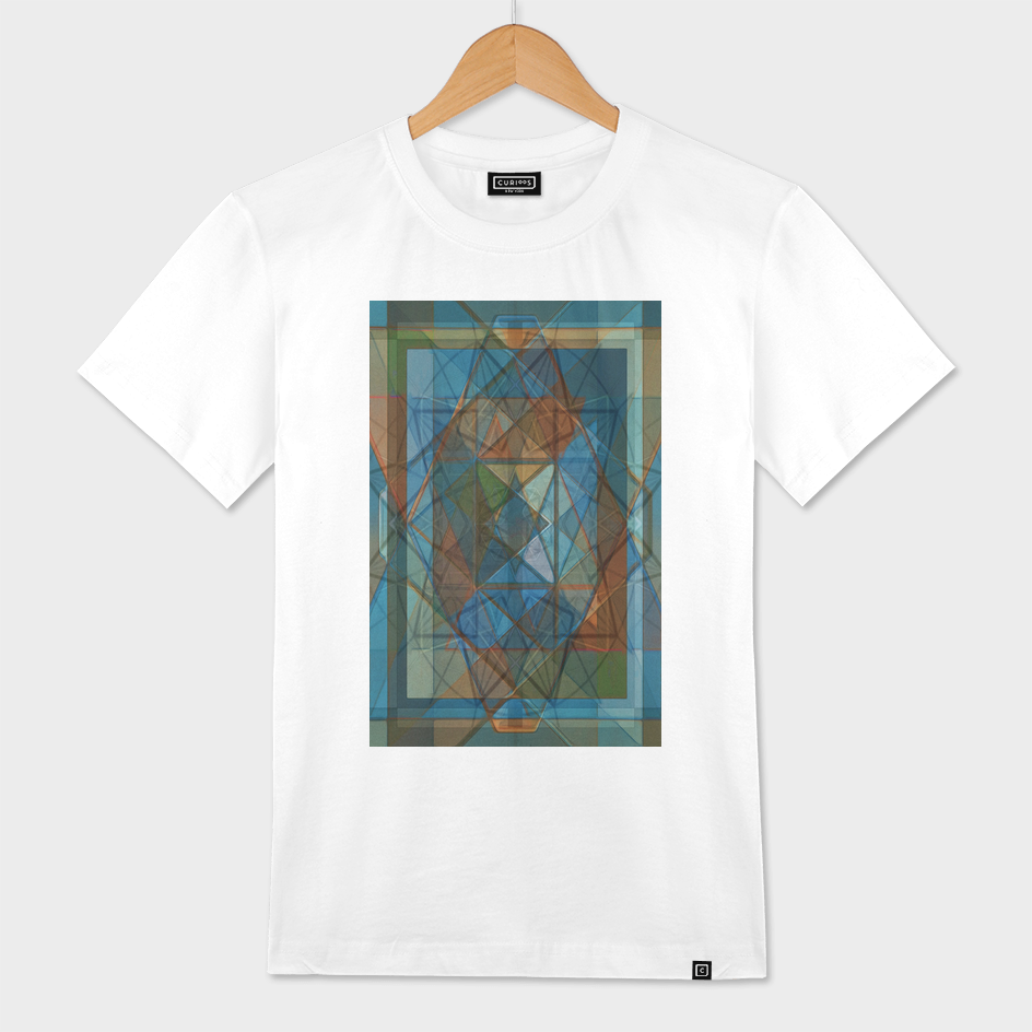 Square Diamond Stained Glass