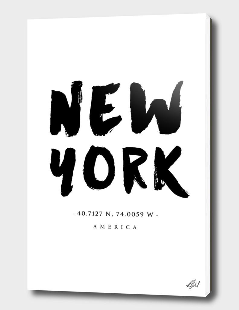 New York Location Coordinates
