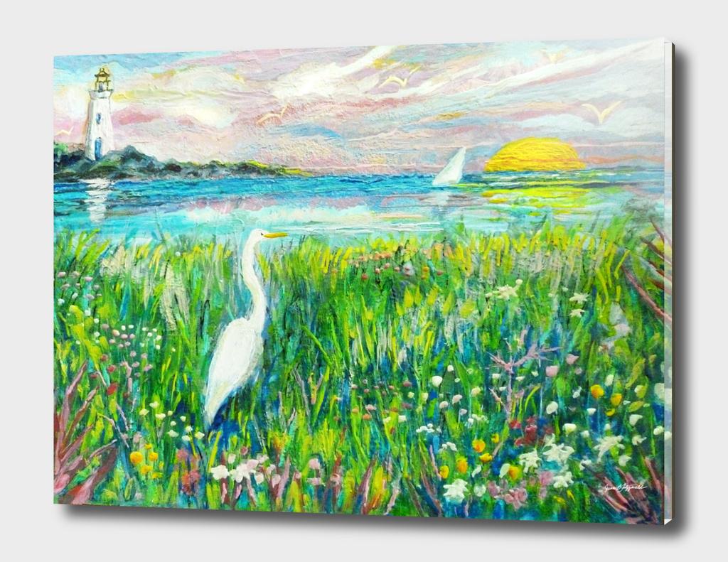 Lighthouse Heron