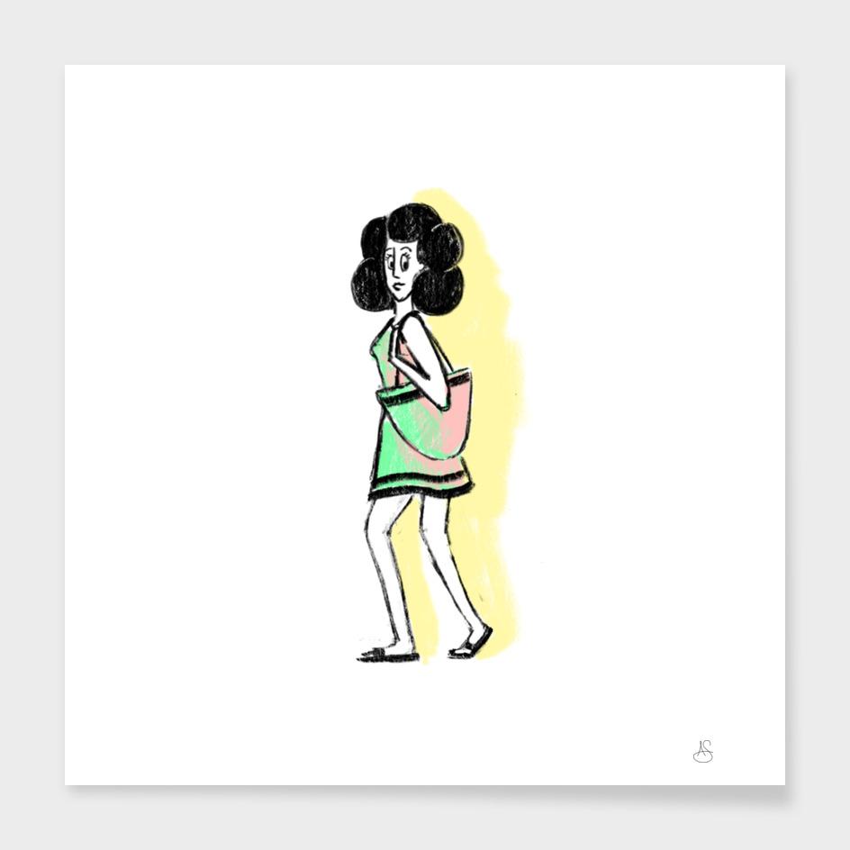 Neon Ladies: Tote