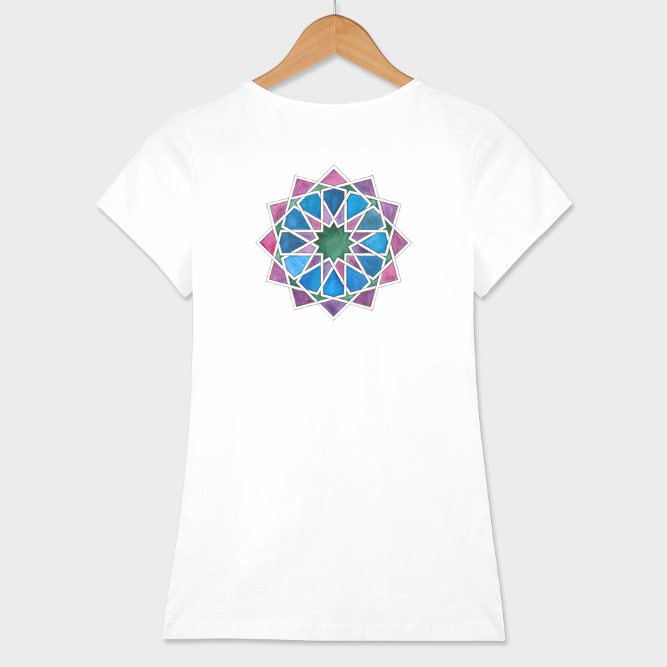 Islamic geometry t-shirt