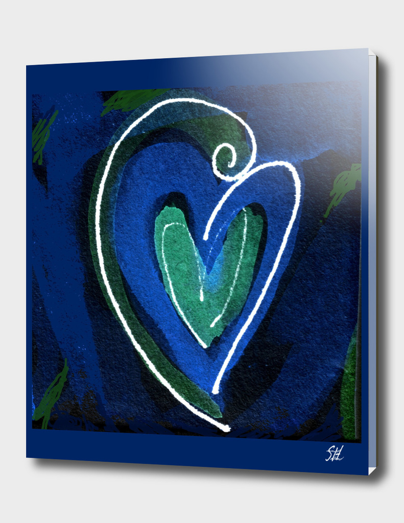 Embraced By Love I ~ Blue Emotions