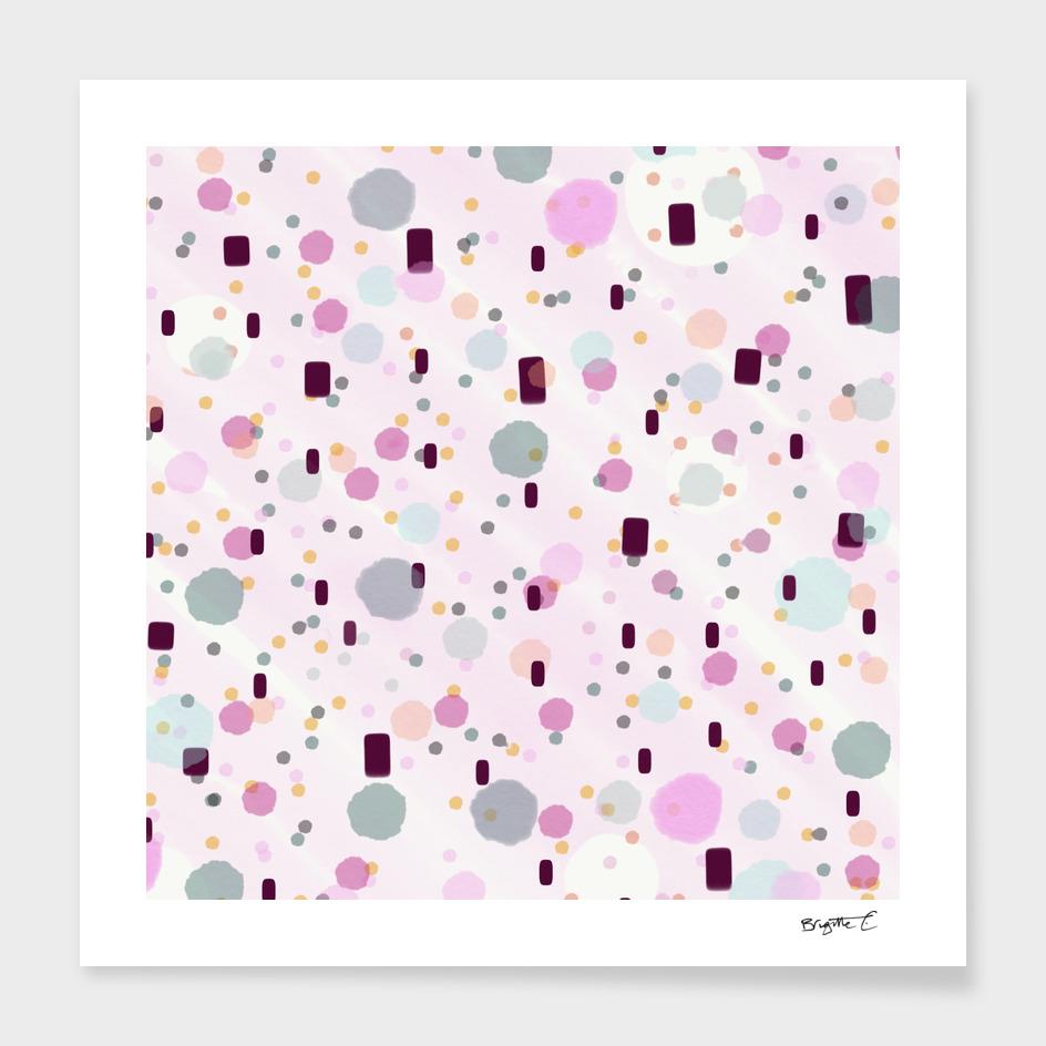 Watercolor Splash Effect Pattern