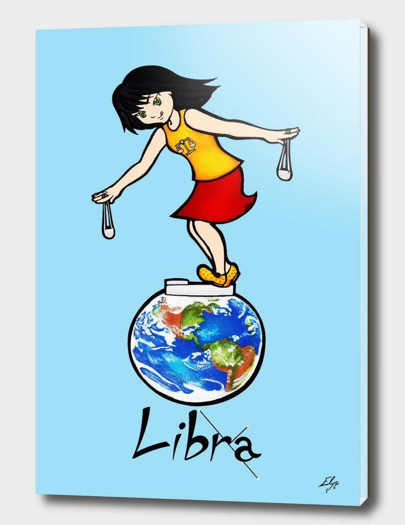 "Libra among the stars - series of T-shirts ""Polaris"""