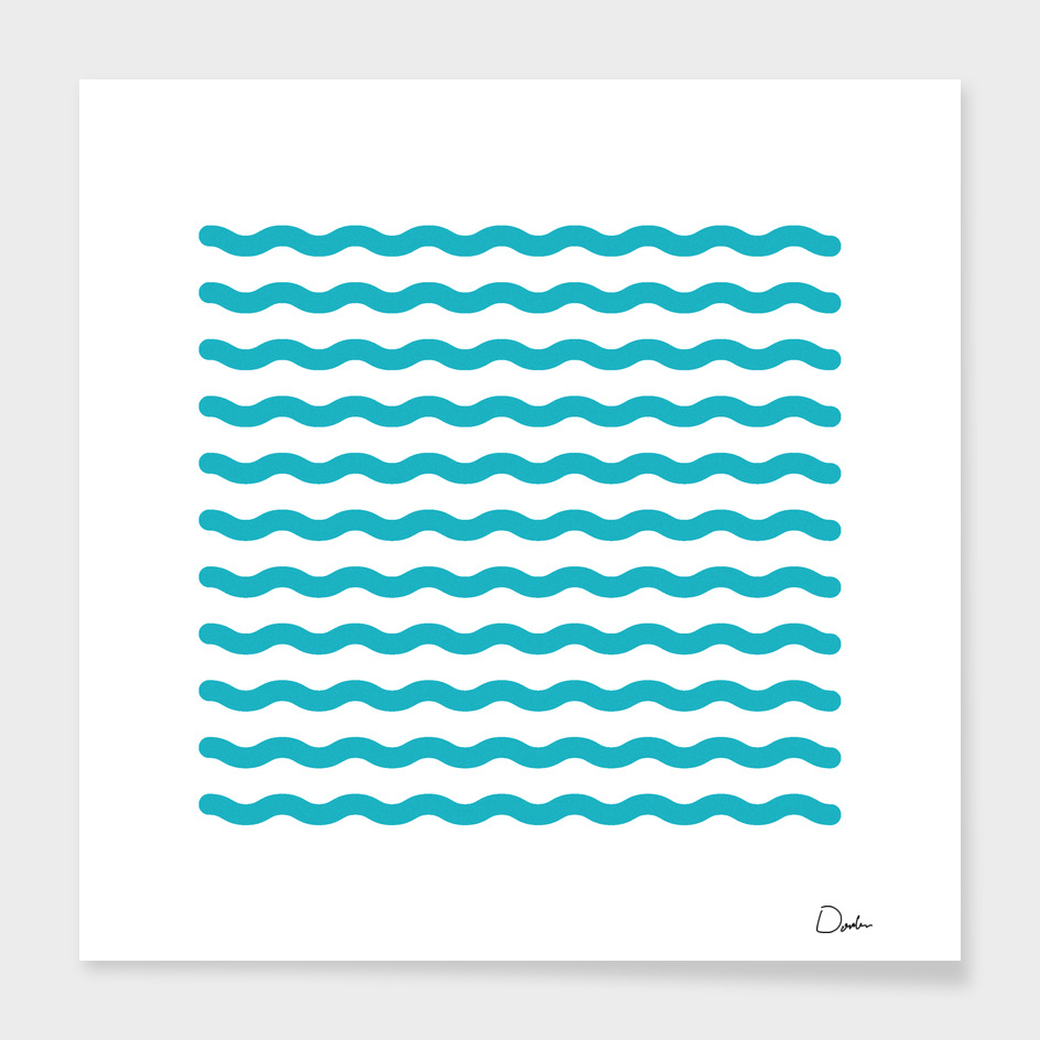 waves stripes