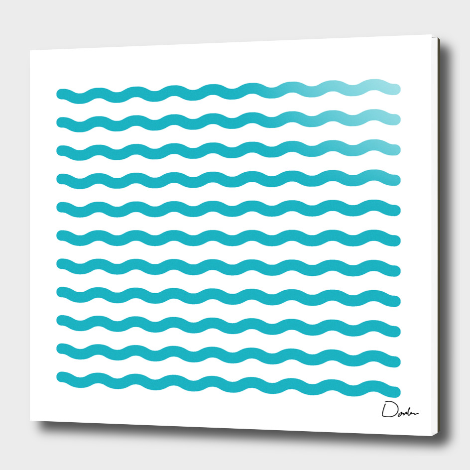 waves stripes