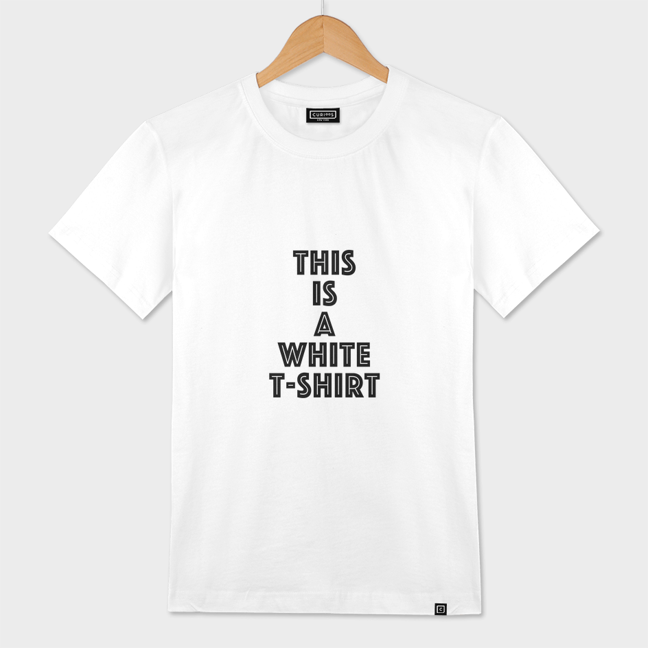 this is a white t-shirt