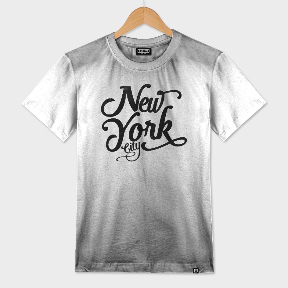 New York City typography