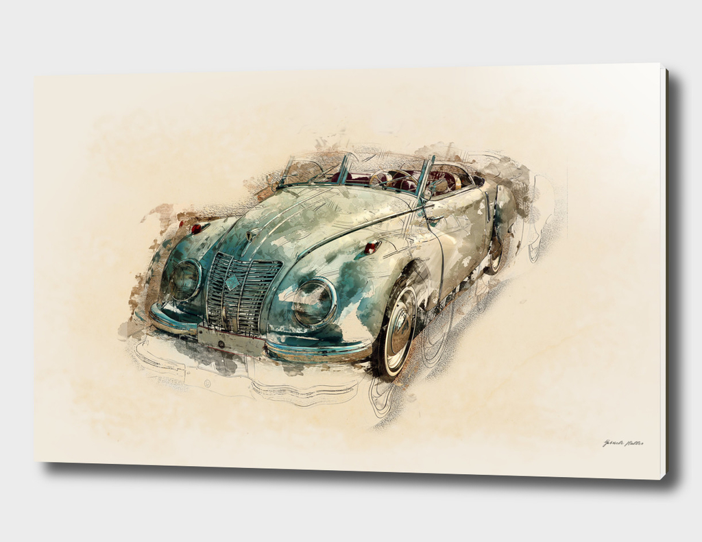 Oldtimer IFA Car - Vintage / Retro