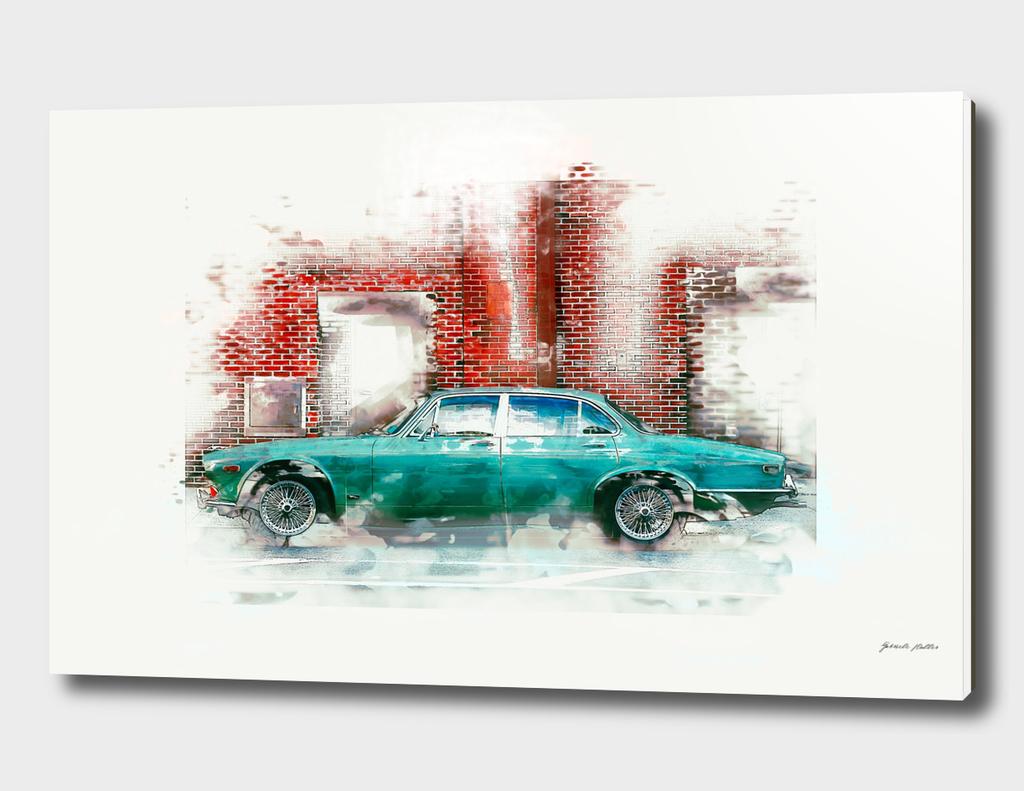 Oldtimer Car - Vintage, Retro, Grunge