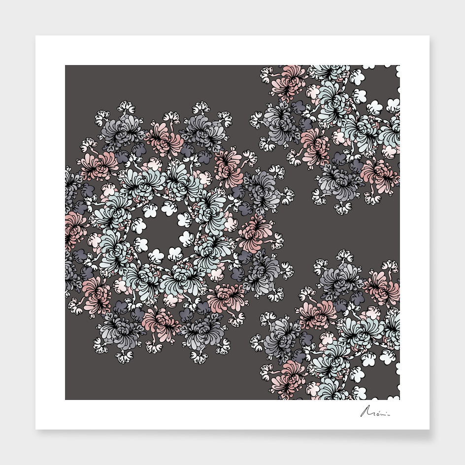 Mandala Flower – Petúnia Composition