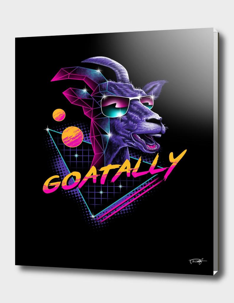 Goatally!